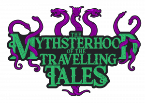 The Mythsterhood mythology podcast logo