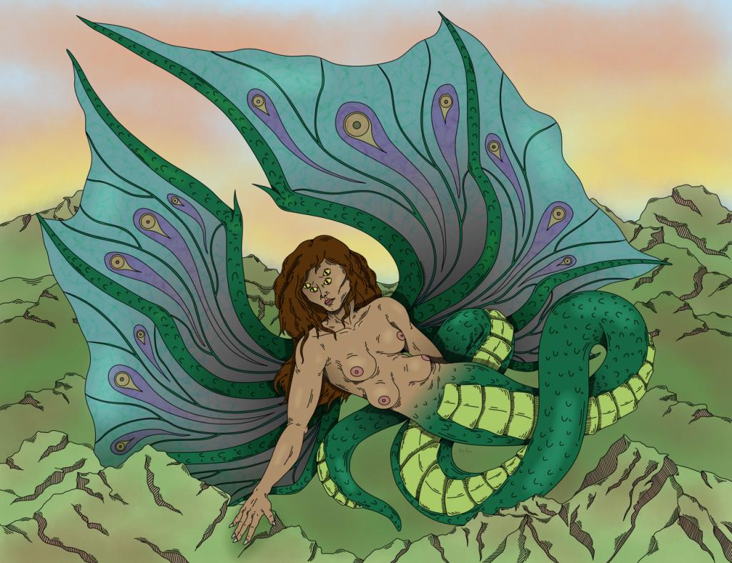 Hatuibwari, dragon of the Solomon Islands mythology