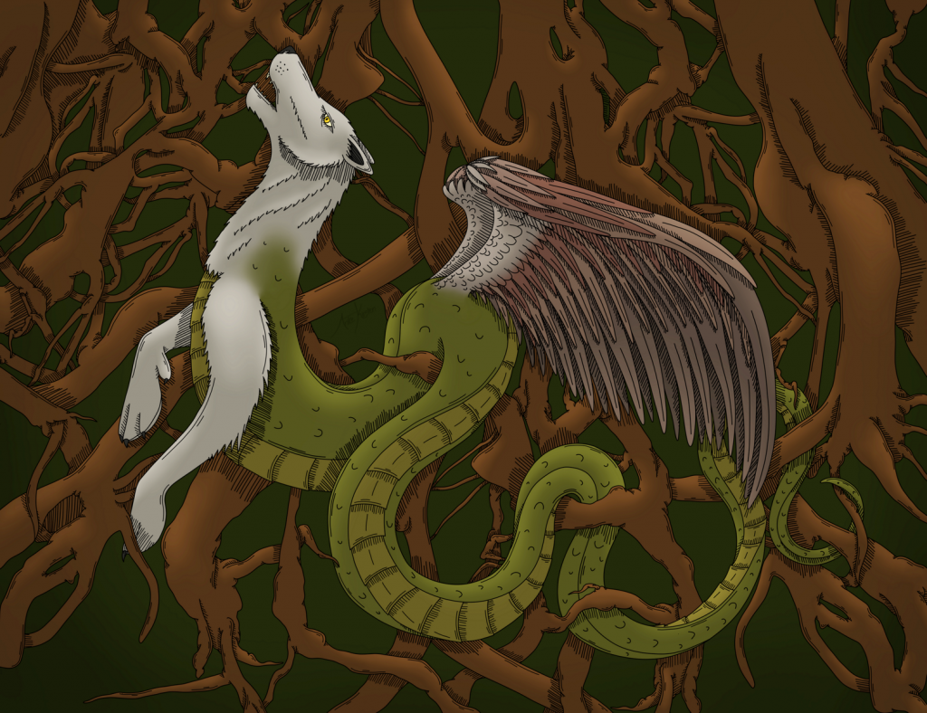 Aidakhar - World Dragon of Kazakh